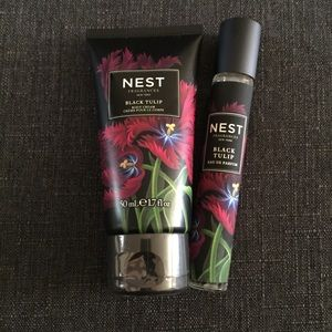 NEW Nest Black Tulip purse spray + body cream